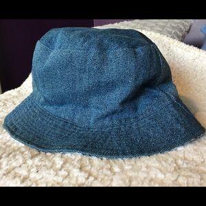 Other - Kids denim bucket hat